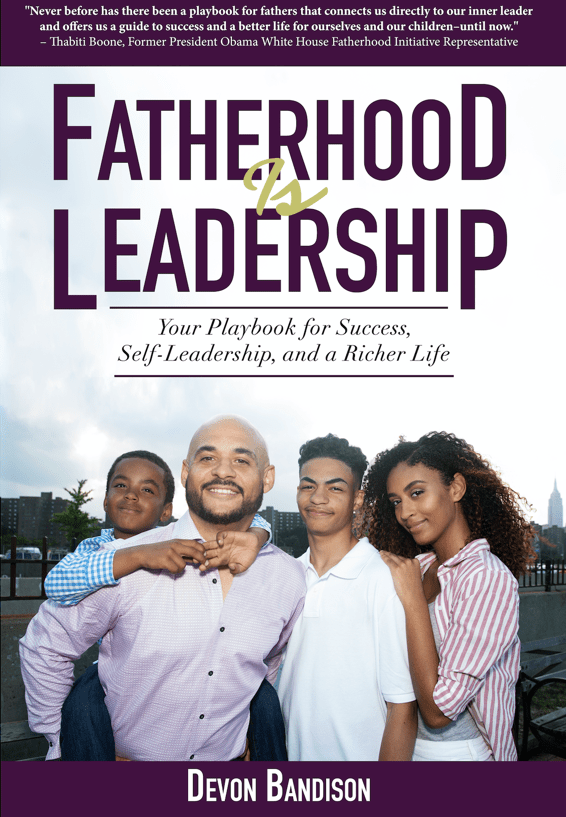 book - fatherhood is leadership